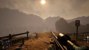 Bigfoot Západ slunce