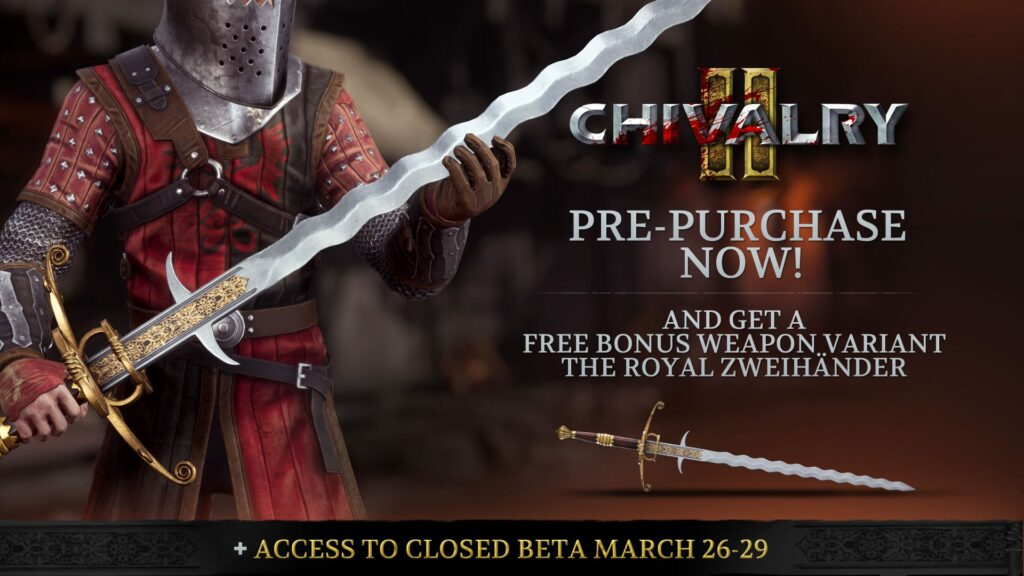 chivalry 2 royal sword