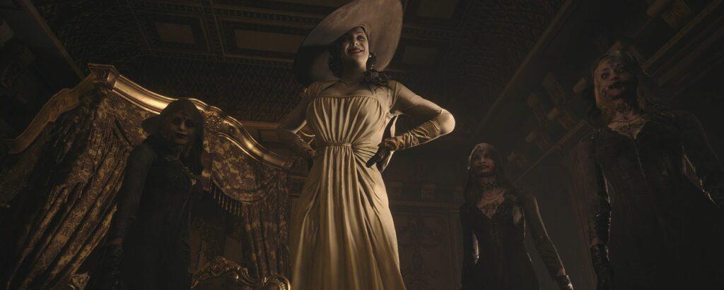 resident evil village big vampire lady