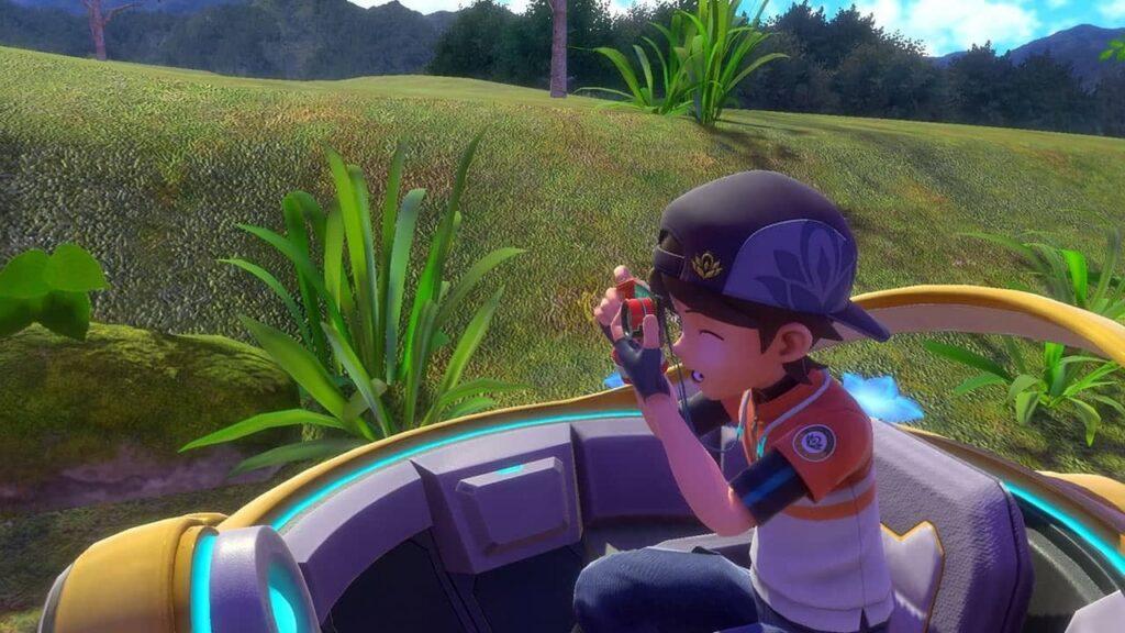 New Pokémon Snap – focení