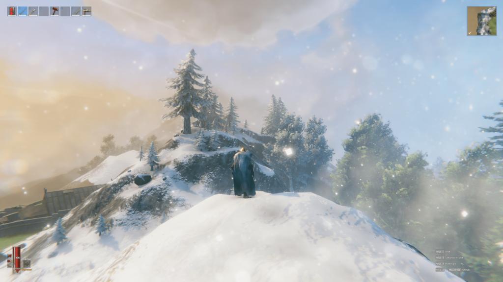 Valheim - sníh