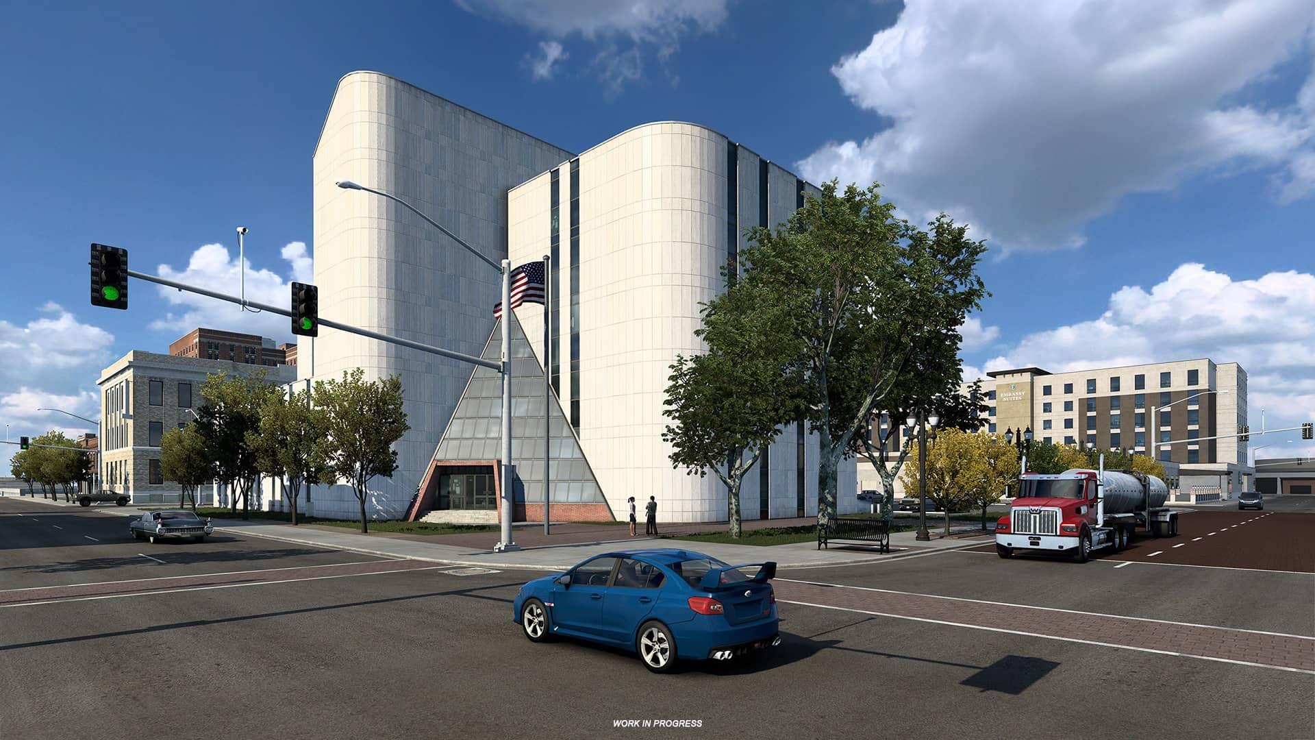 ATS Texas - budova