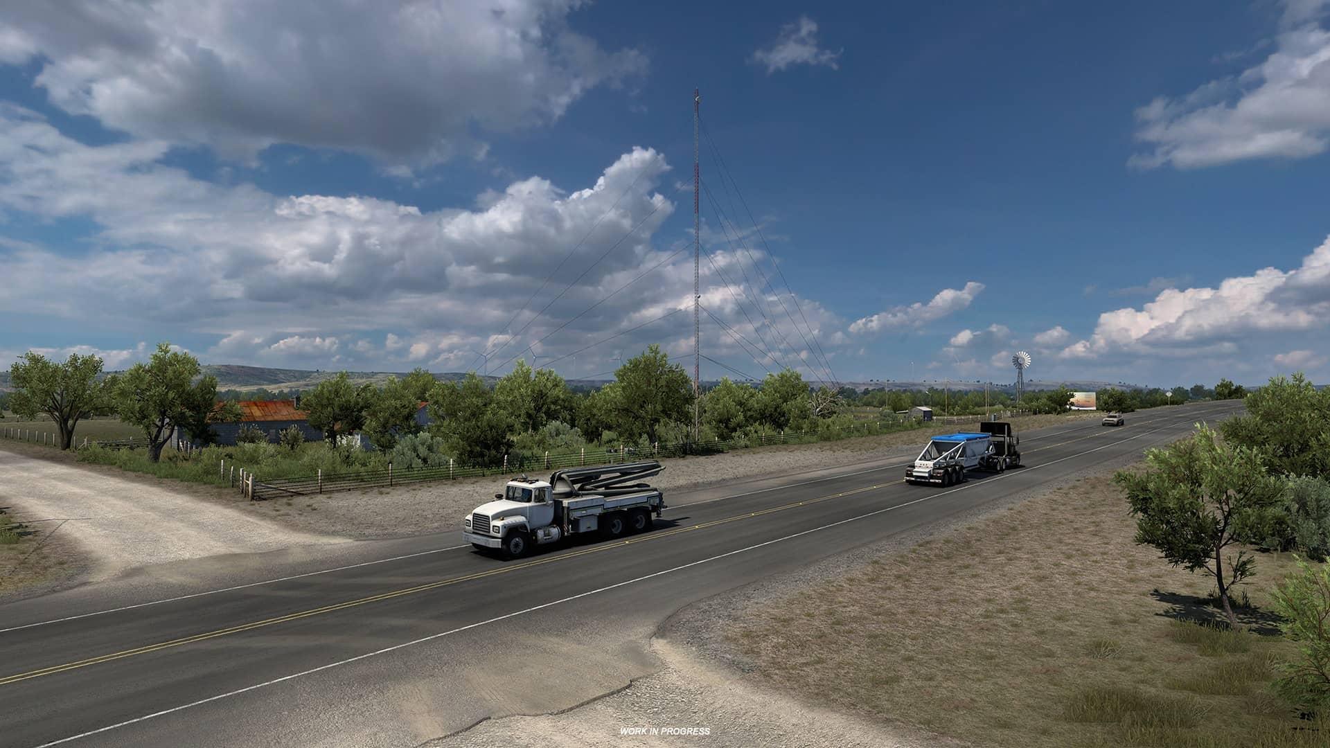 ATS Texas - truck na silnici