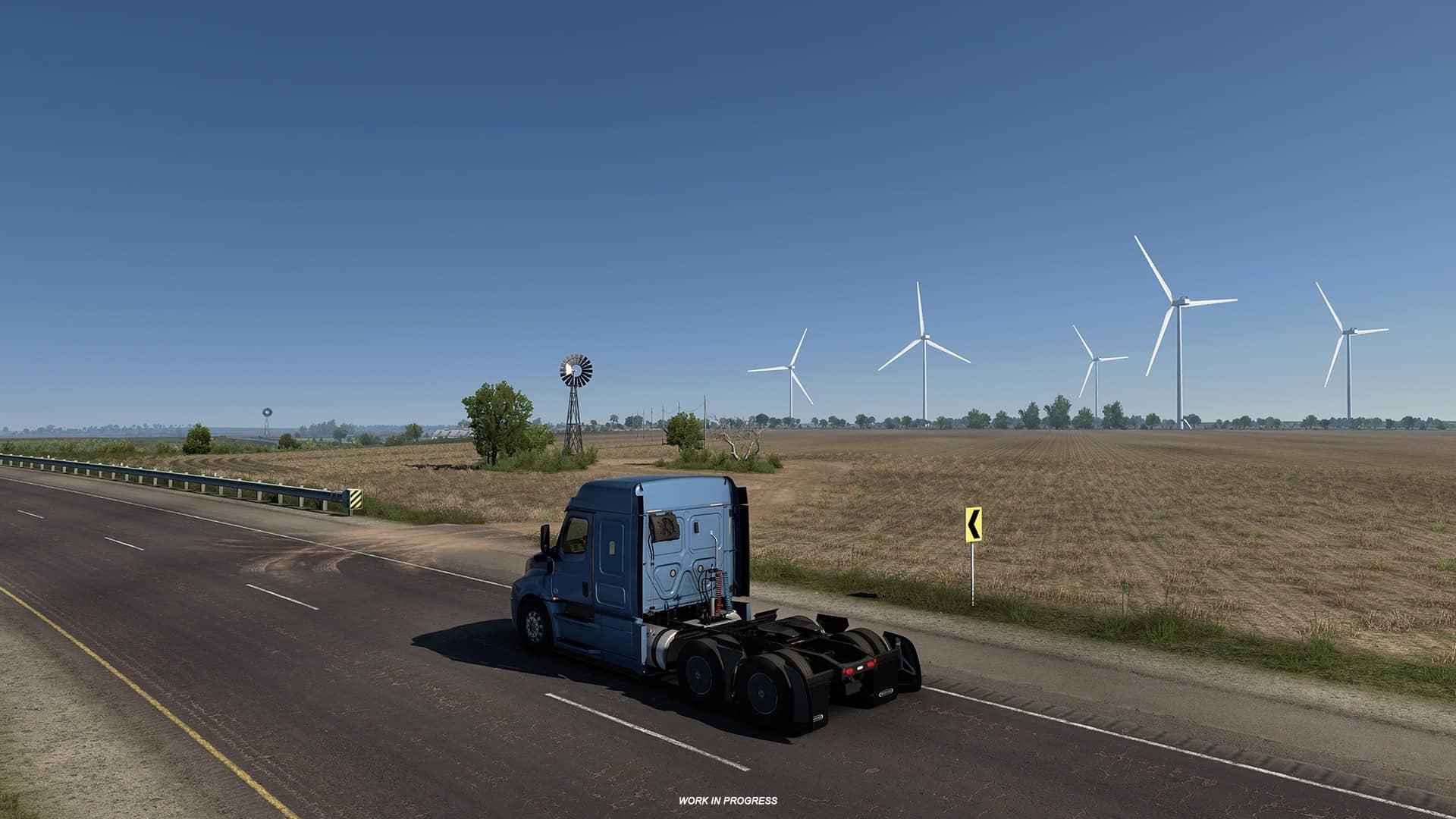 ATS Texas - větrná elektrárna