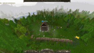 Archamon – první budova postavena