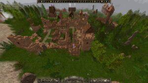 Archamon – staví se první hrad