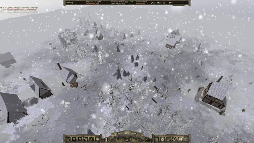 Archamon – zimní období