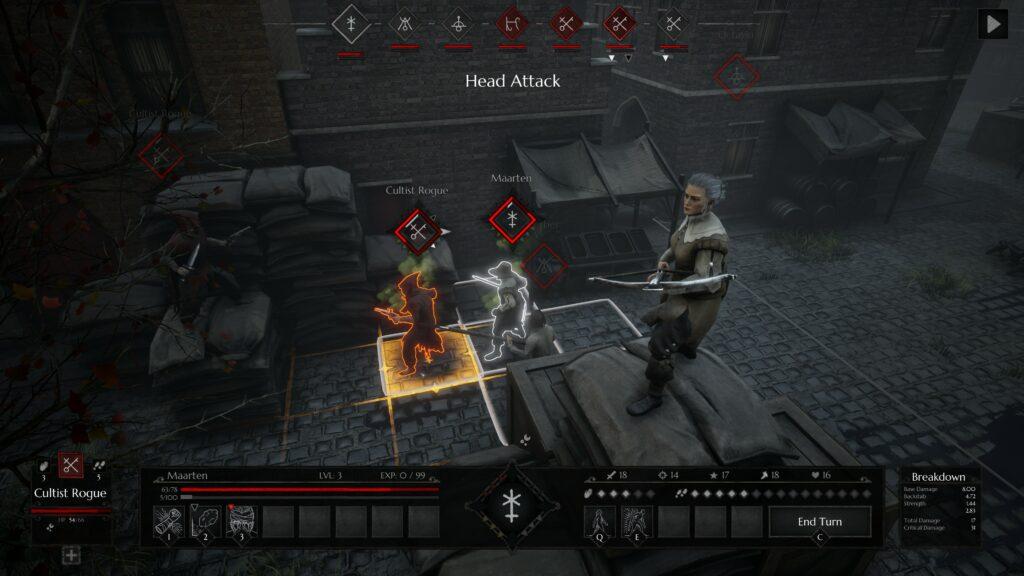 Black Legend hlava