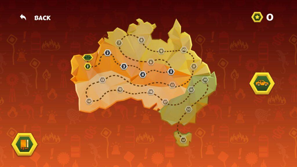 Bushfires Animal Rescue – mapa
