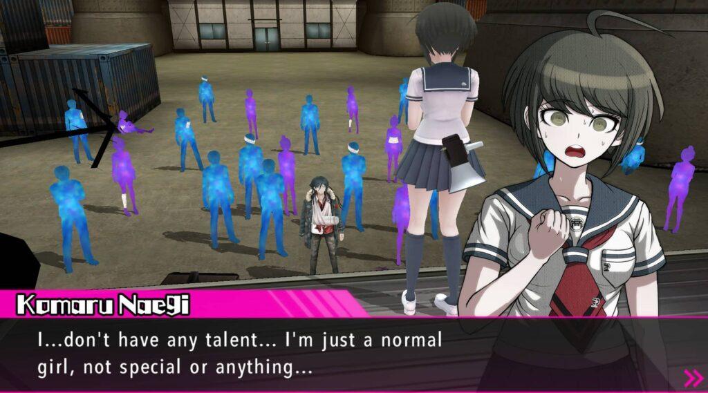 Danganronpa Another Episode Ultra Despair Girls – Komaru nemá talent na nic