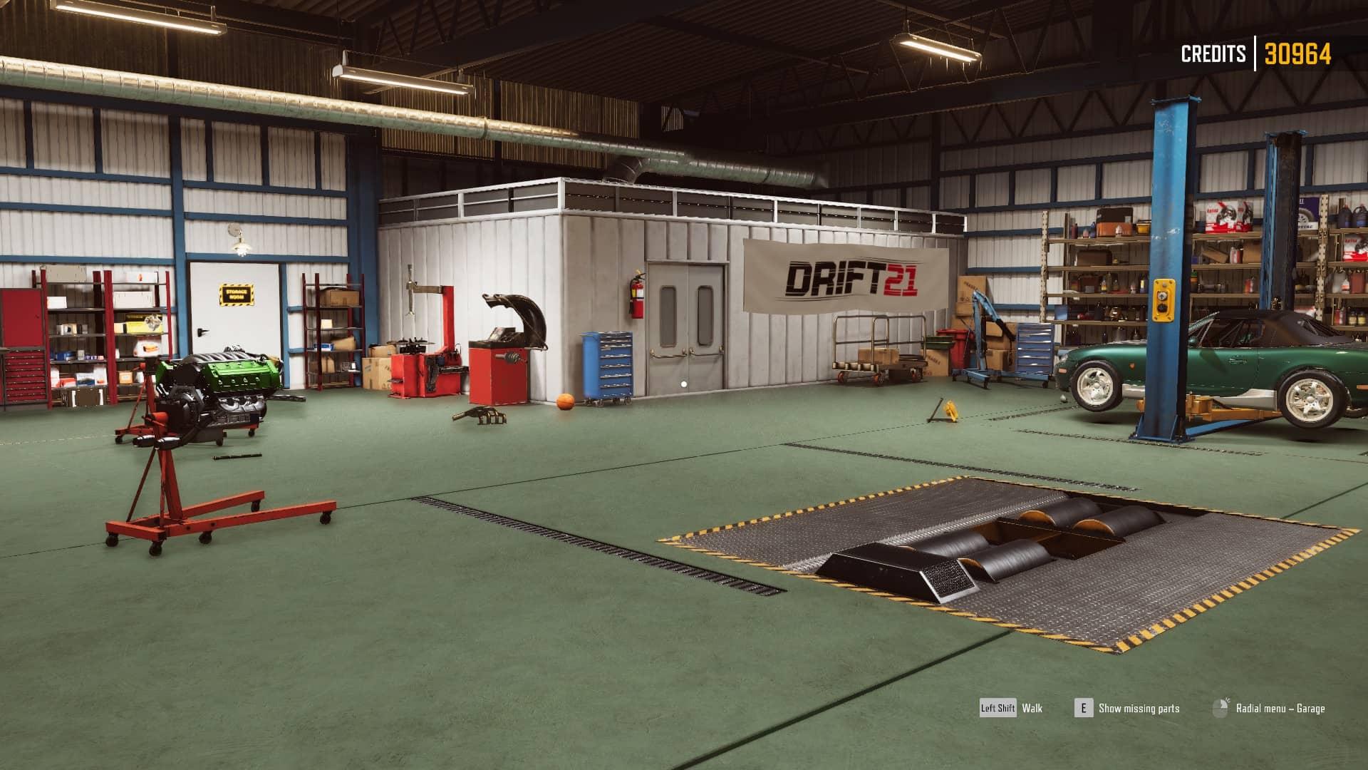 Drift 21 - garáž