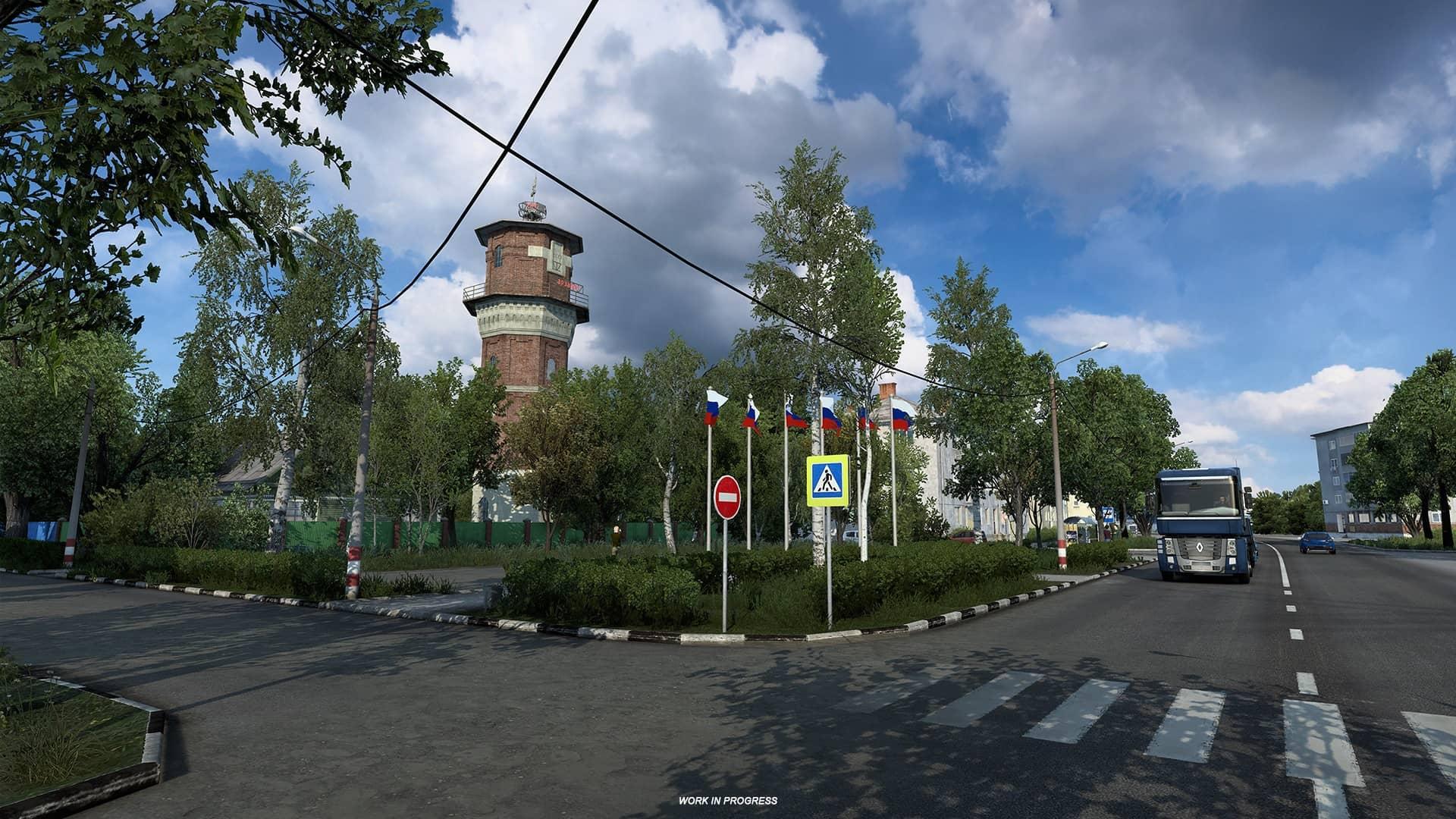 ETS 2 Heart of Russia - ruská památka