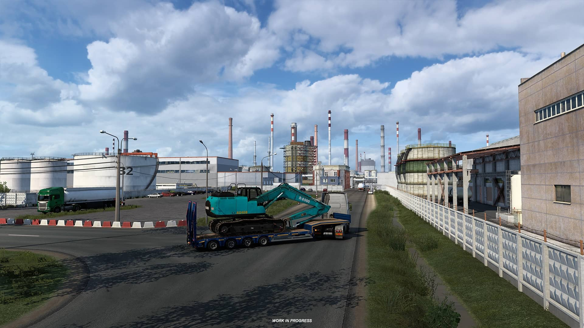 ETS 2 Heart of Russia - továrna
