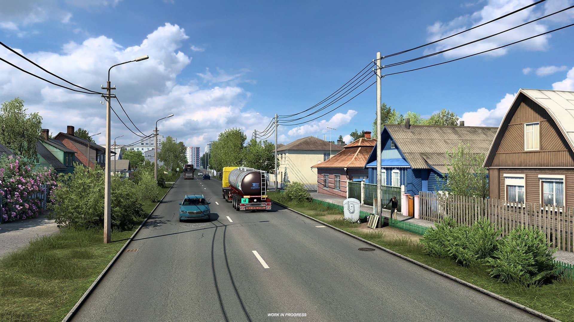 ETS 2 Heart of Russia - vesnice