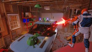 HYPERCHARGE Unboxed garáž