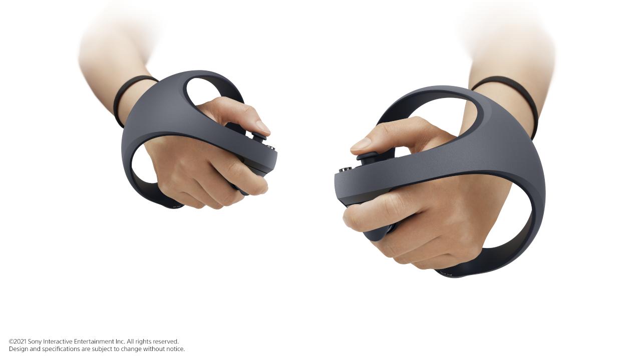 PS5 VR ovladač ruce