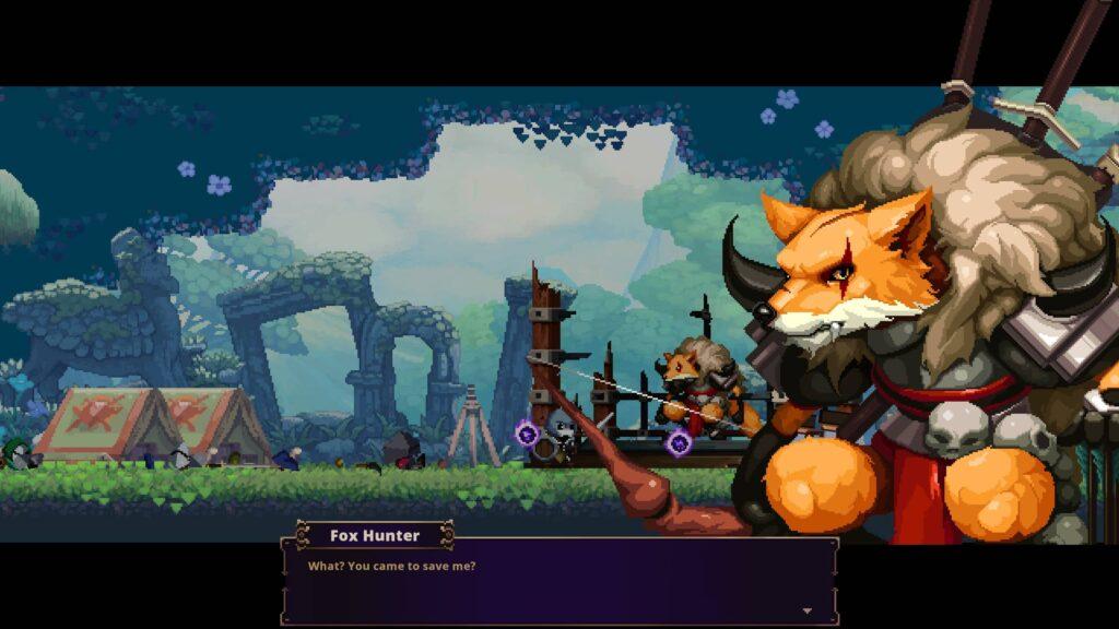 Skul – záchrana Foxe