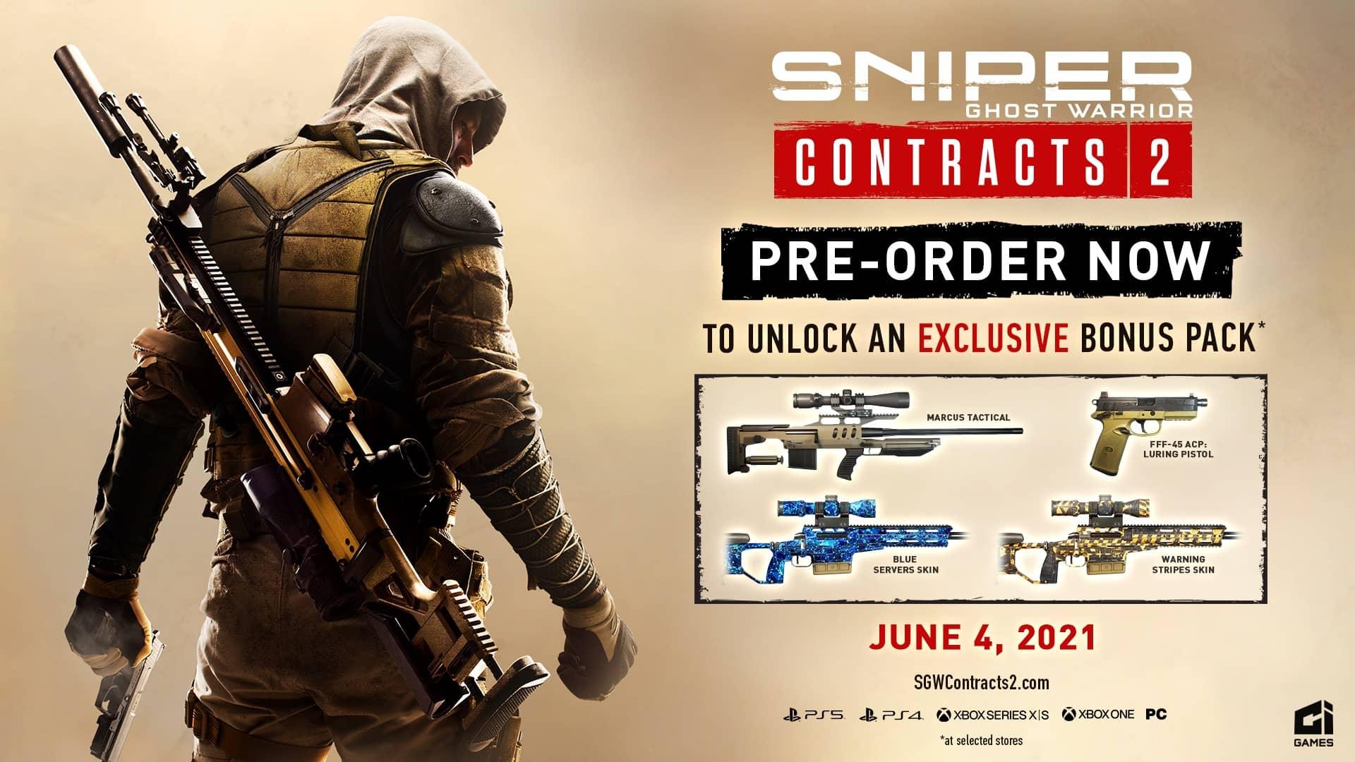 Sniper Ghost Warrior Contracts 2 - bonusy