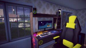 Streamer Life Simulator - herní koutek