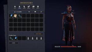 Tainted Grail – inventář