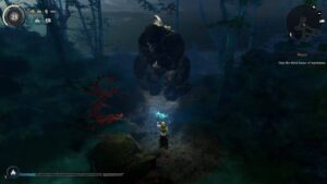 Tainted Grail – první boss lokace