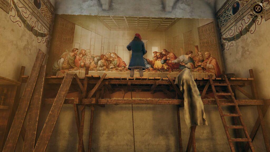 The House of Da Vinci 2 – Mistr při práci