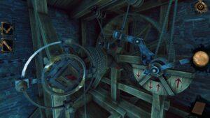The House of Da Vinci 2 – mechanismus výtahu