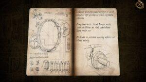 The House of Da Vinci 2 – zápisky v deníku