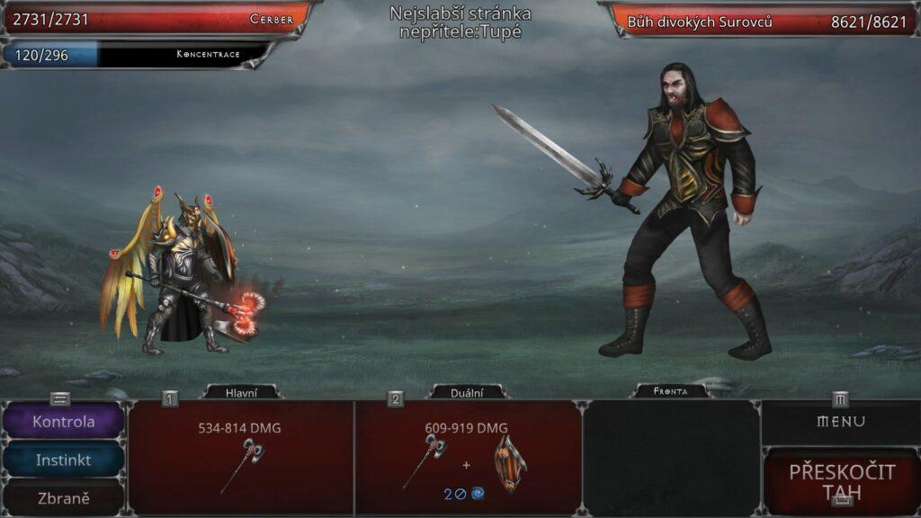 Vampires Fall Origins souboj