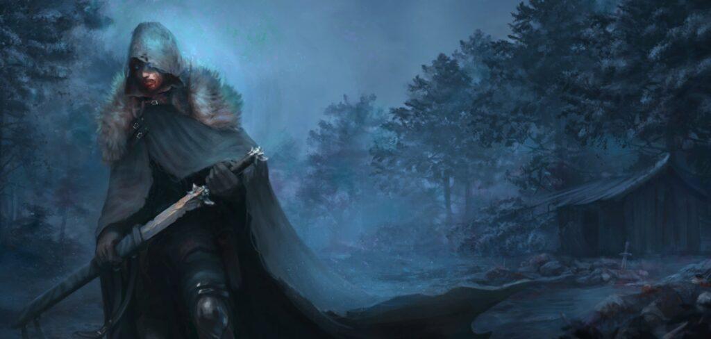 Vampires Fall Origins meč