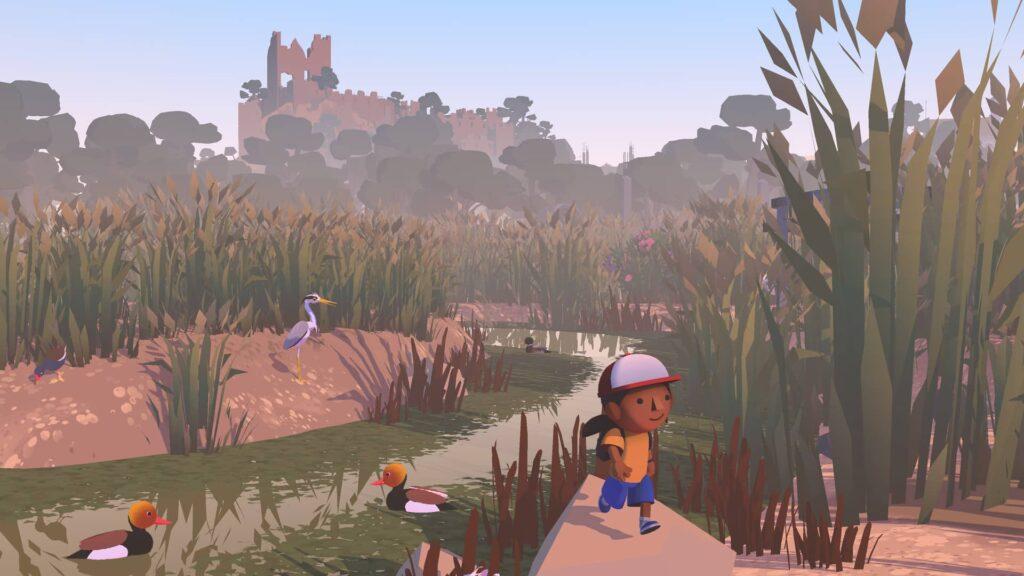 Alba A Wildlife Adventure - zřícenina