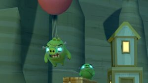 Angry Birds VR prasátka