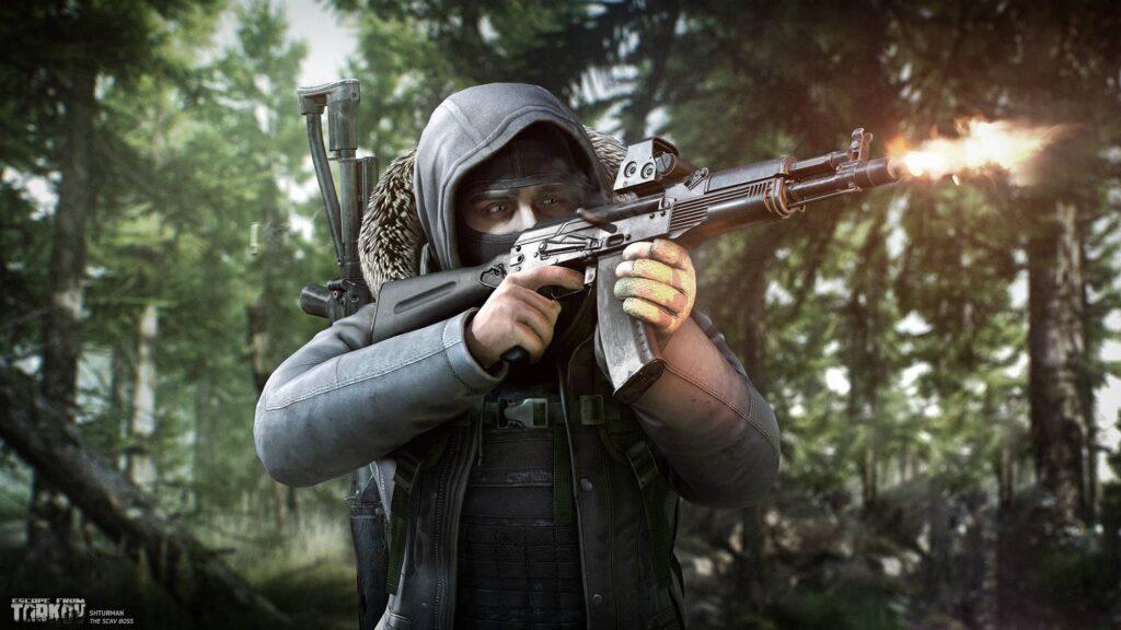 EFT – Voják v lese