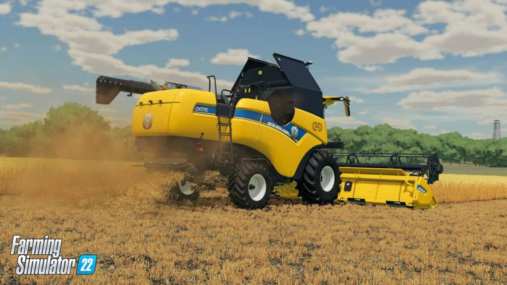 Farming Simulator 22 - kombajn
