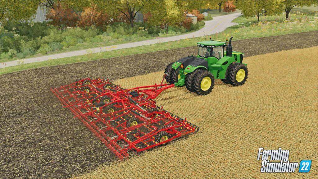 Farming Simulator 22 - práce na poli