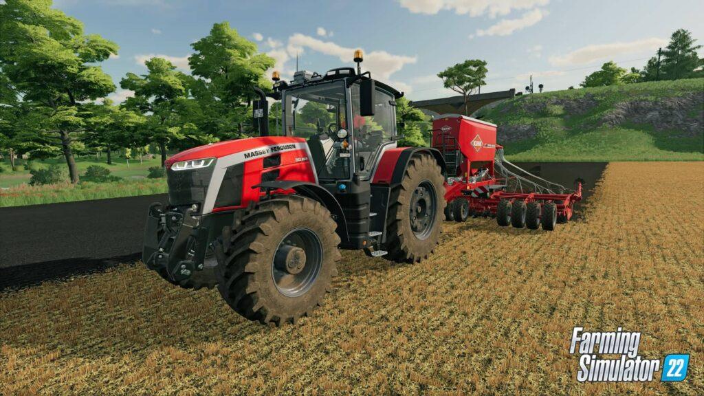 Farming Simulator 22 - traktor