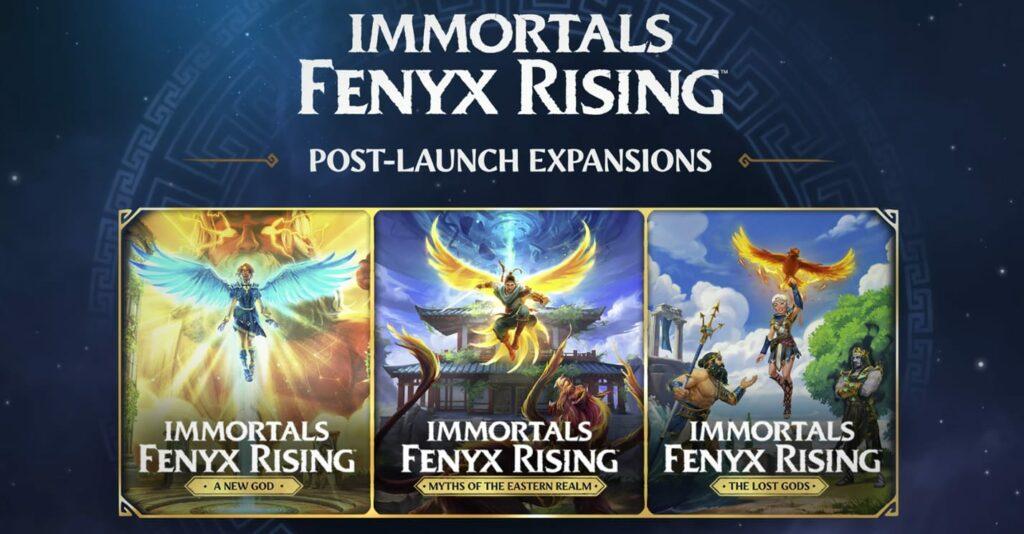 Immortals Fenyx Rising – rozšíření