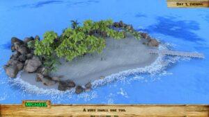 Lewd Island – veliký ostrov na kterým jste