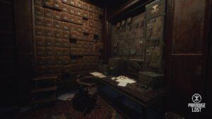 Paradise Lost - telegrafická stanice