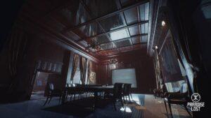 Paradise lost - konferenční místnost