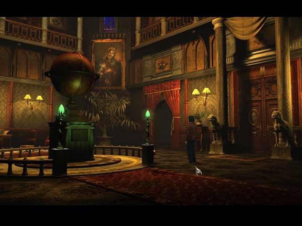 Posel Smrti - hrad Black Mirror