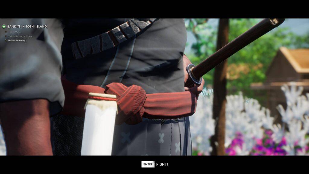 Ronin – příprava na boj