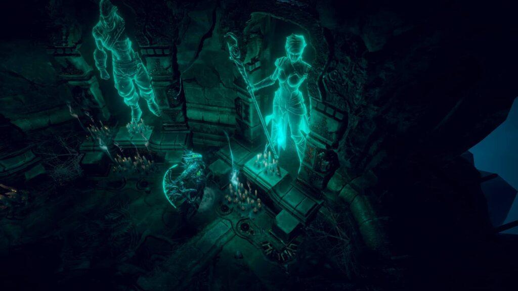 Shadows Awakening – první výběr hrdiny