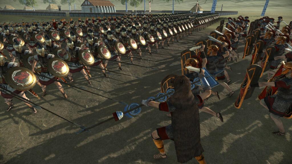 Total War Rome Remastered battle