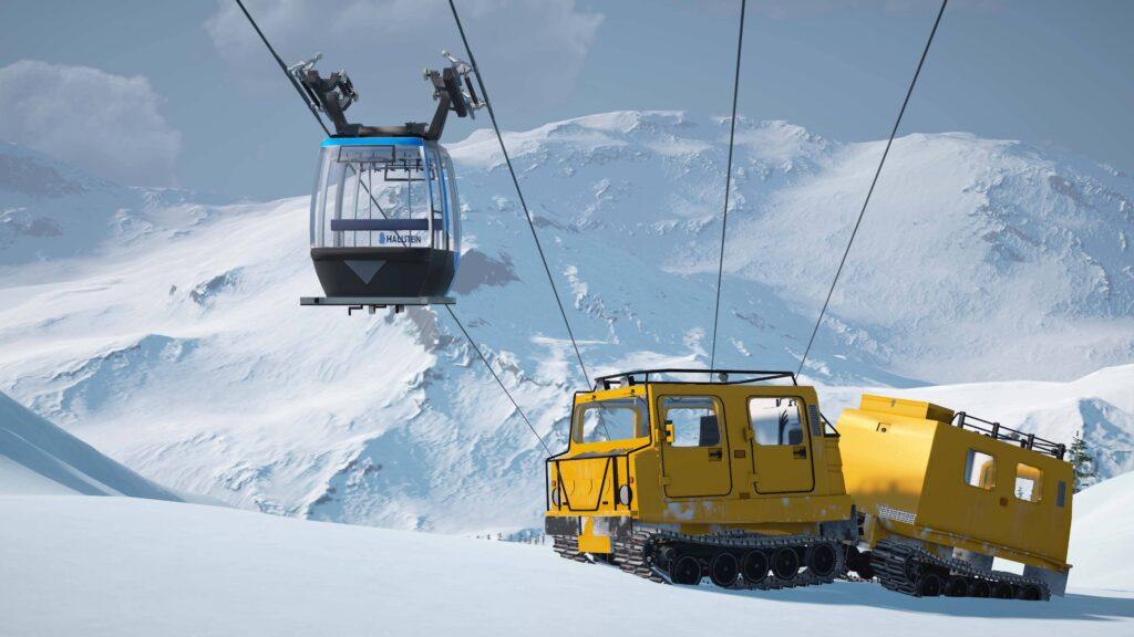 Winter Resort Simulator Season 2 - transfer lanovka