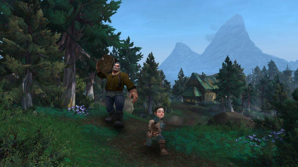 World of Warcraft speech
