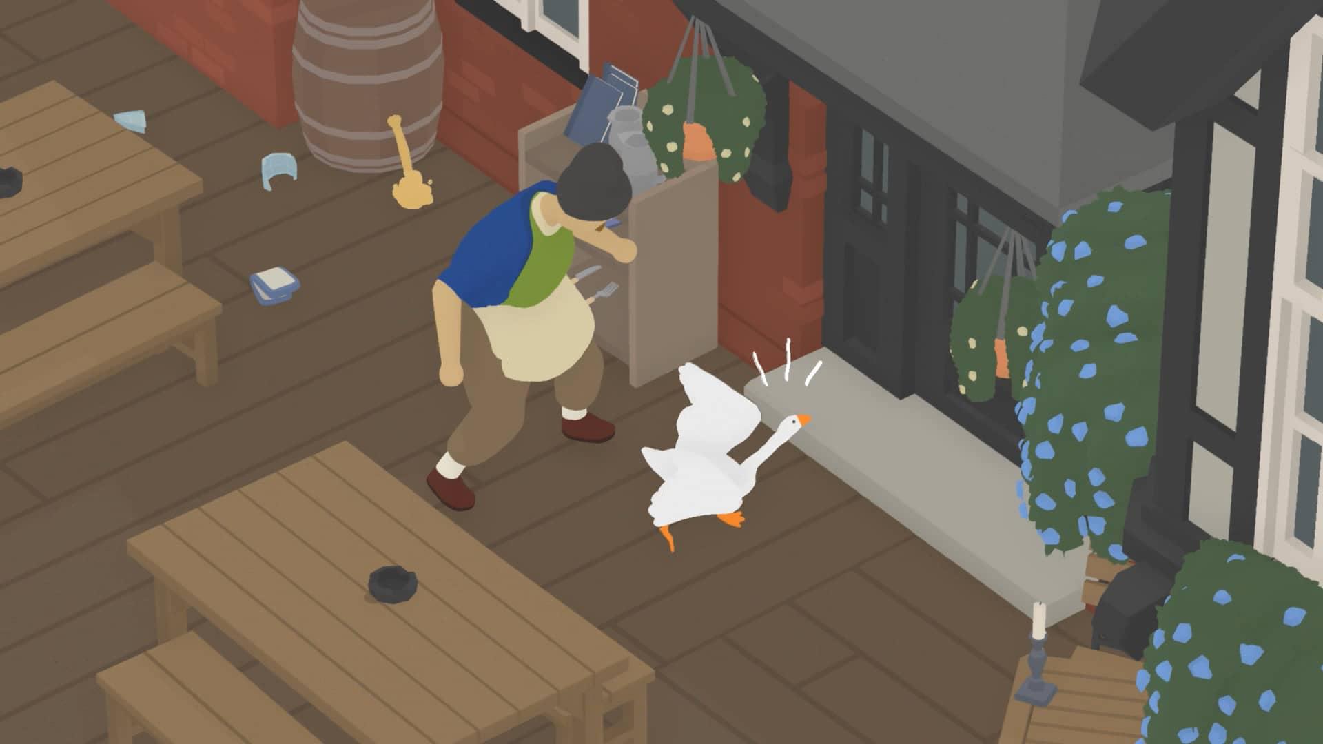 Untitled Goose Game - Hospoda