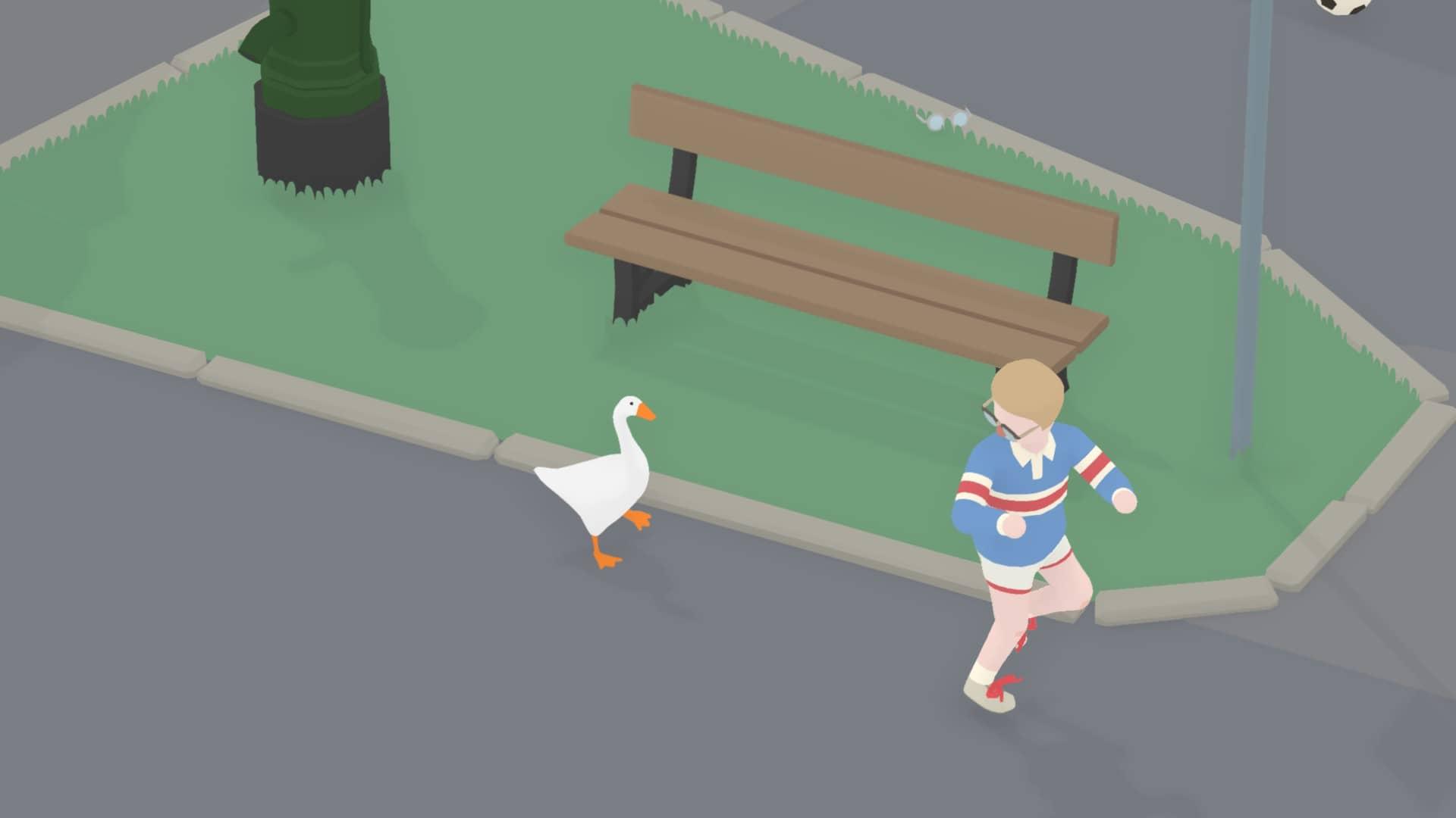 Untitled Goose Game - Kluk