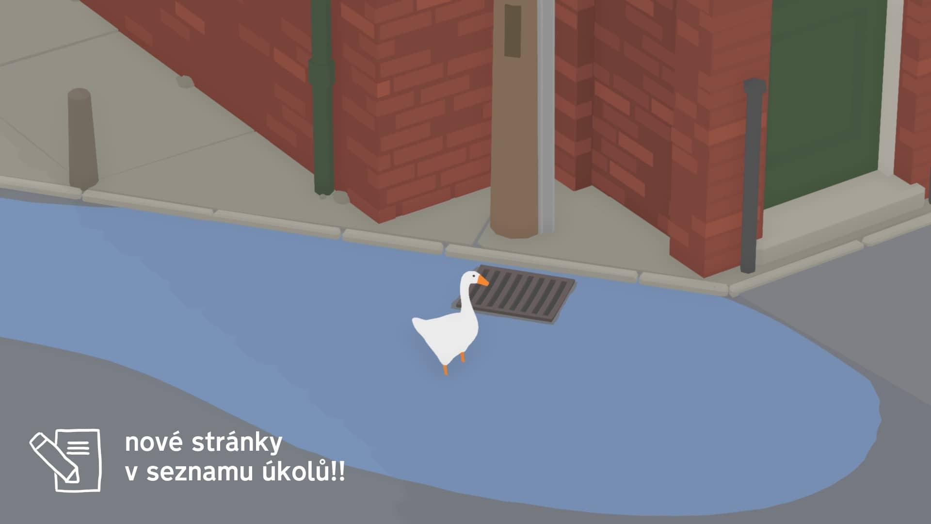 Untitled Goose Game - Položka