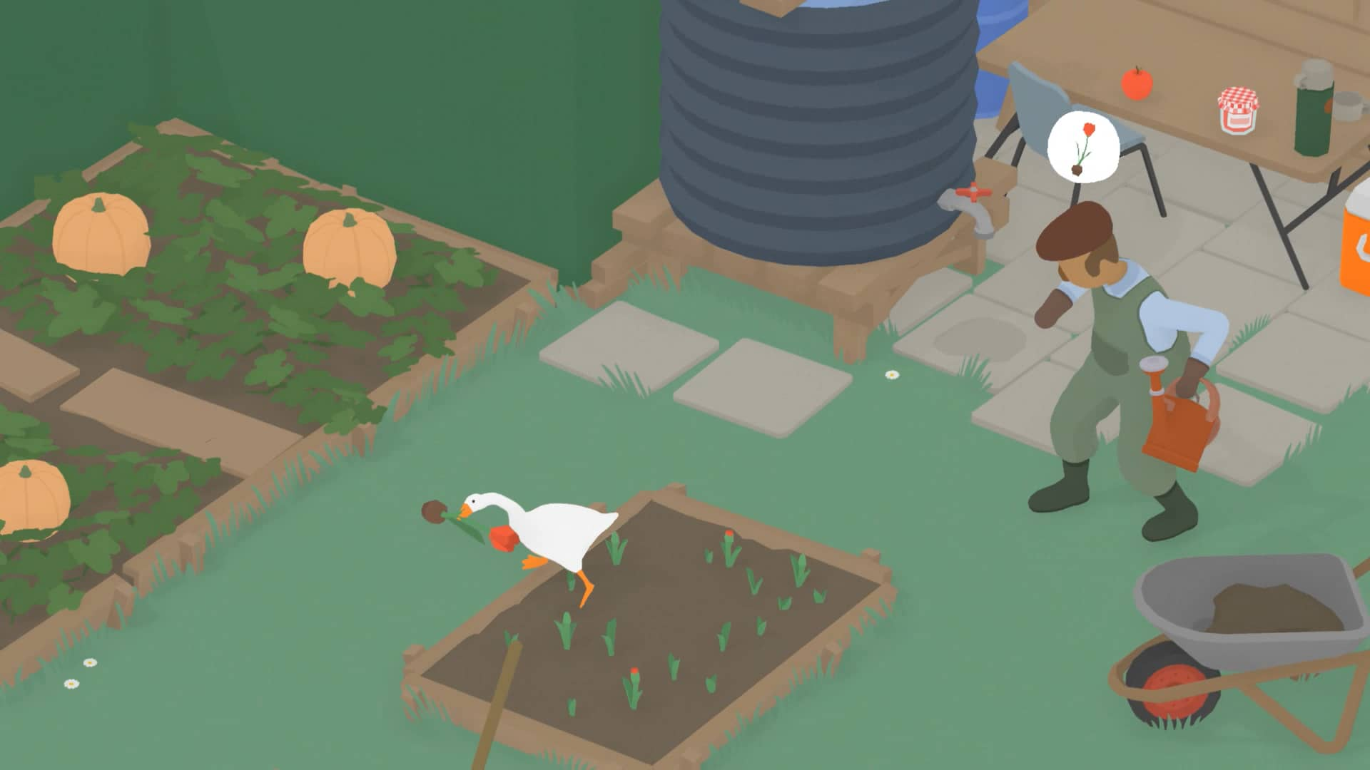 Untitled Goose Game - Tulipán